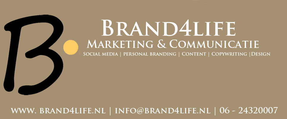 Advertentie Brand4life